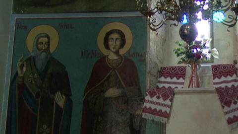 The Monastery of the Twelve Apostles in Capernaum Footage