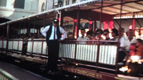 (8mm Vintage) 1968 Disneyland Entrance Sign Footage
