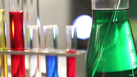 Laboratory CSI 57 dolly Stock Video Footage
