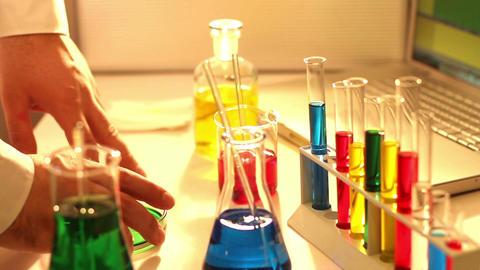 Laboratory CSI 69 investigating Stock Video Footage