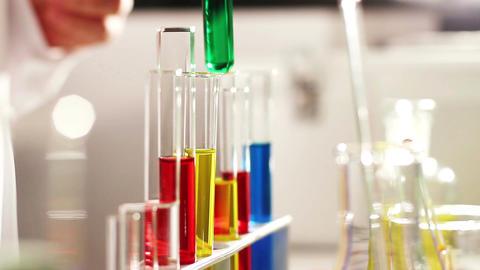 Laboratory CSI 83 investigating Stock Video Footage