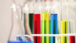 Laboratory CSI 97 investigating Stock Video Footage
