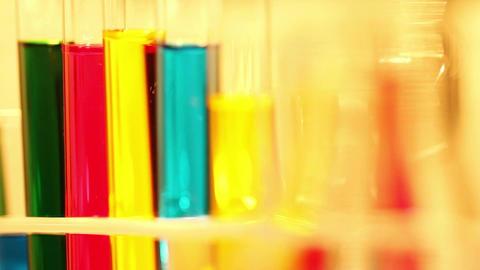 Laboratory CSI 99 investigating focus change Stock Video Footage