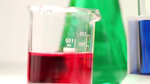 Laboratory CSI 103 investigating tilt Stock Video Footage