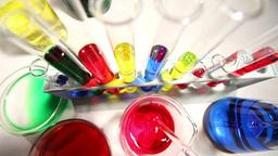 Laboratory CSI 113 investigating Stock Video Footage