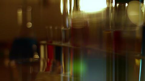 Laboratory CSI 123 dolly stylized Stock Video Footage