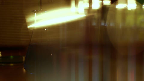 Laboratory CSI 125 dolly stylized Stock Video Footage