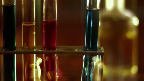 Laboratory CSI 127 dolly stylized Stock Video Footage