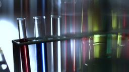 Laboratory CSI 129 dolly stylized Stock Video Footage
