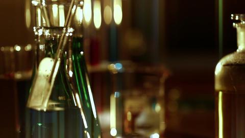 Laboratory CSI 131 dolly stylized Stock Video Footage