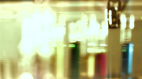 Laboratory CSI 137 dolly stylized Stock Video Footage