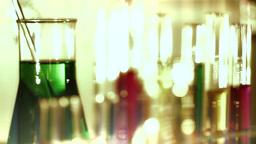 Laboratory CSI 139 dolly stylized Stock Video Footage