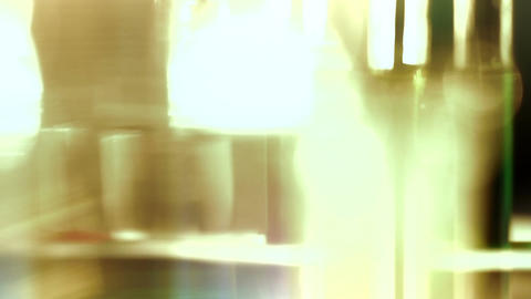 Laboratory CSI 143 change focus Stock Video Footage
