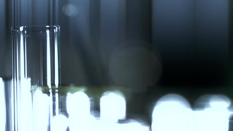 Laboratory CSI 147 dolly stylized EXTRA Stock Video Footage