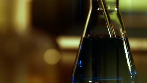 Laboratory CSI 149 dolly stylized Stock Video Footage