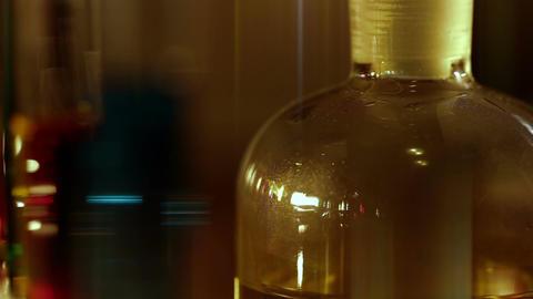 Laboratory CSI 153 dolly stylized Stock Video Footage