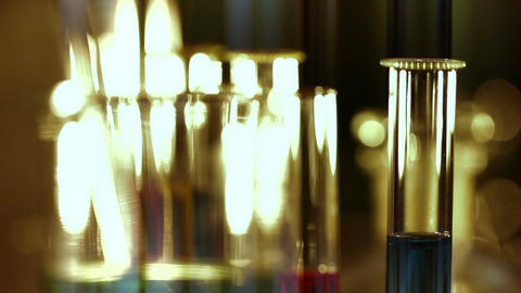 Laboratory CSI 161 focus change stylized Footage