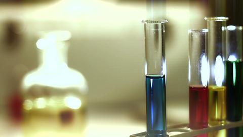 Laboratory CSI 167 dolly stylized Stock Video Footage