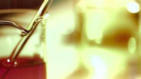 Laboratory CSI 175 dolly stylized Stock Video Footage