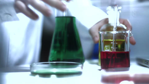 Laboratory CSI 205 investigating stylized Footage