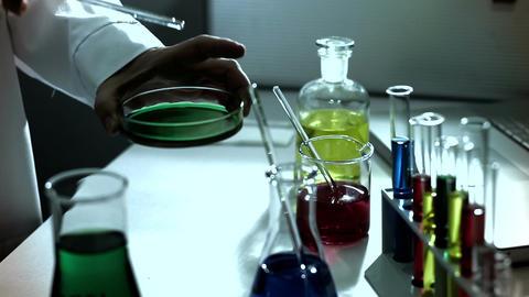 Laboratory CSI 233 investigating stylized Footage