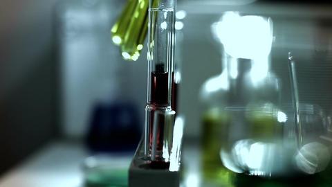 Laboratory CSI 247 investigating stylized Stock Video Footage