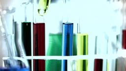 Laboratory CSI 255 investigating stylized Stock Video Footage