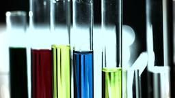 Laboratory CSI 263 investigating stylized Stock Video Footage