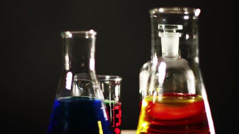 Laboratory CSI Concept rotating 03 Stock Video Footage