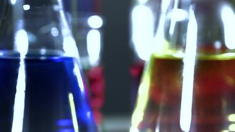 Laboratory CSI Concept rotating 09 stylized Stock Video Footage