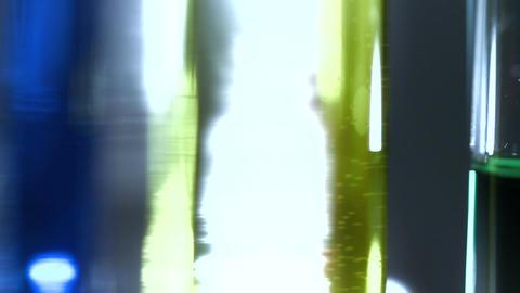 Laboratory CSI Concept rotating 15 stylized Stock Video Footage