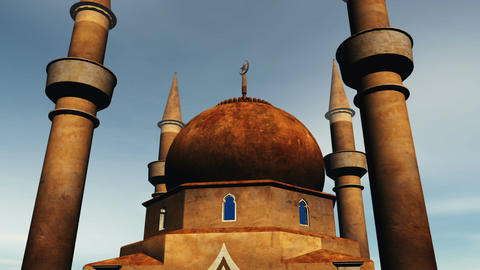 Mosque 01 Animation