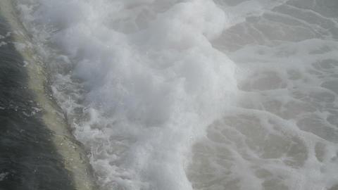 erupting water in a whirlpool Stock Video Footage