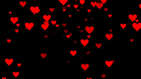 Loopable Heart Animation Stock Video Footage