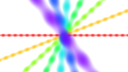 Rotating color lines Stock Video Footage
