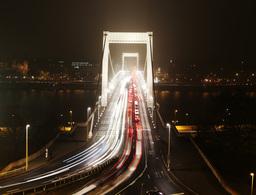 4K European City at Night Timelapse 07 Stock Video Footage