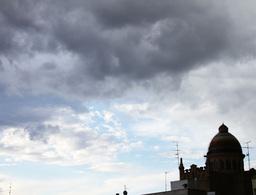 4K European Scene Clouds Timelapse 03 Stock Video Footage
