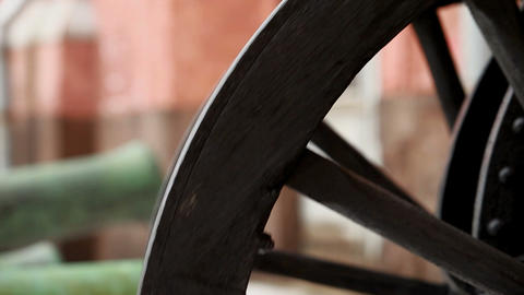 wheel carts Stock Video Footage