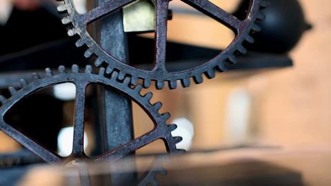 Gear wheels Stock Video Footage