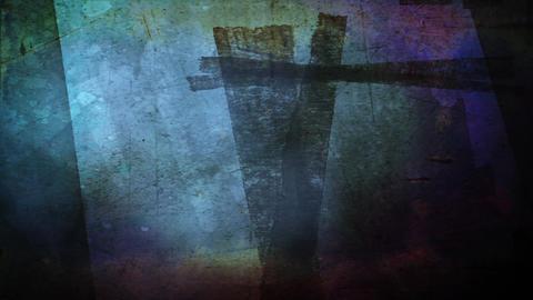 Cross of Calvary Stock Video Footage