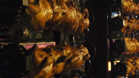 Grill chicken Stock Video Footage