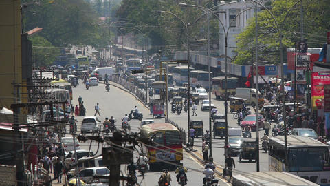 Indian streets Stock Video Footage
