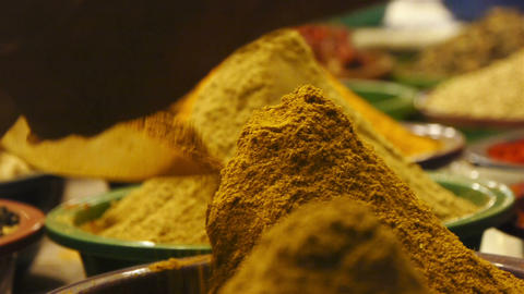 Spices Stock Video Footage