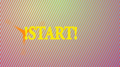Animation with the word the start Animation