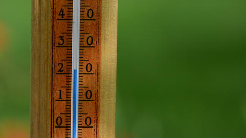 temperature rise on wood thermometer scale exceed 30 degree Footage