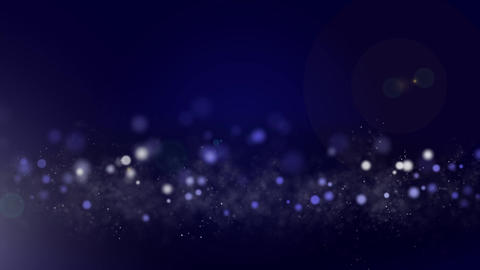 Circle And Particle Background #2 stock footage