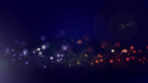 Circle And Particle Background #4 stock footage
