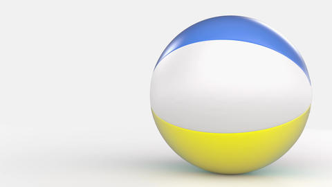 Bouncing Beach Ball Stock Animation Animation