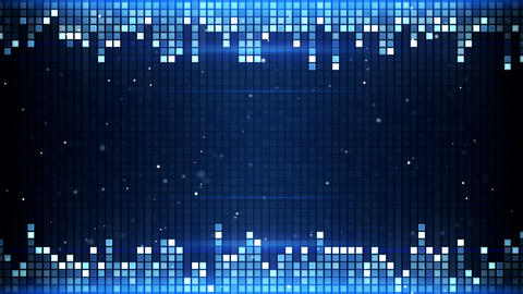 shimmering squares frame seamless loop 4k (4096x2304) Animation