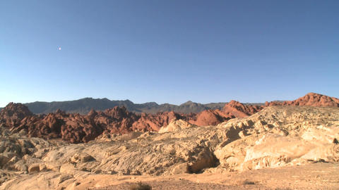 Rock formations in the Valley of Fire (20 of 20) Footage